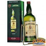Jameson Whiskey 4,5l / 40% PDD + állvány