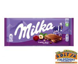 Milka Mazsolával és Mogyoróval  100g