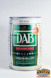 DAB Világos Hordós Sör 5l / 5%