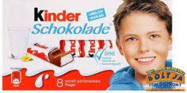 Kinder Csokoládé 8 darabos 100g