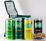 DAB dobozos Sörök Hűtőtáskában 4x0,5l