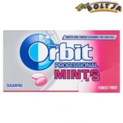 Orbit Professional Mints Forest Fruit Cukormentes 18 g