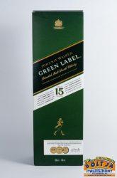 Johnnie Walker Green Label 15 éves 0,7l / 43% PDD