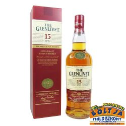 The Glenlivet 15 éves Whisky 0,7l PDD