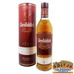 Glenfiddich 15 éves Solera Reserve Whisky 0,7l / 40% PDD