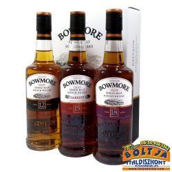 Bowmore Islay Single Malt Skót Whisky Kollekció 3x0,2l PDD
