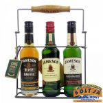 Jameson Trio Kóstoló Pack 3x0,2l / 40% fémkeretes