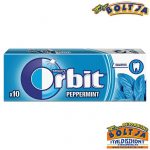 Orbit Peppermint 10 darabos 14g