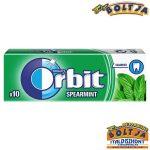 Orbit Spearmint 10 darabos 14g