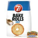 7 Days Bake Rolls Sós Kenyérchips 80g
