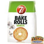 7 Days Bake Rolls Fokhagymás Kenyérchips 80g