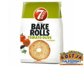 7 Days Bake Rolls Paradicsomos Olivás Oregánós Kenyérchips 80g
