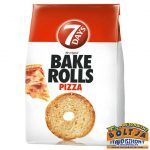 7 Days Bake Rolls Pizzás Kenyérchips 80g