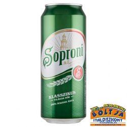 Soproni Klasszikus Világos Sör (dobozos) 0,5l / 4,5%