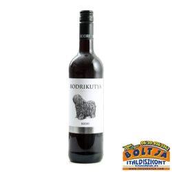 Bodrikutya Szekszárdi száraz, vörösbor 2019 0,75l / 13%
