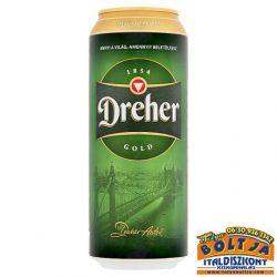 Dreher Gold Világos Sör (dobozos) 0,5l / 5,2%