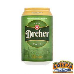 Dreher Classic Világos Sör (dobozos) 0,33l / 5,2%