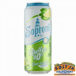 Soproni Radler Lime-Menta (dobozos) 0,5l / 0%