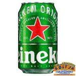 Heineken Világos Sör (dobozos) 0,33l / 5%
