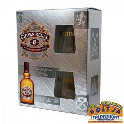 Chivas Regal 12 éves Whisky 0,7l / 40% PDD+2 pohár
