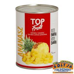 Top Fruits Darabolt Ananászkonzerv 565g