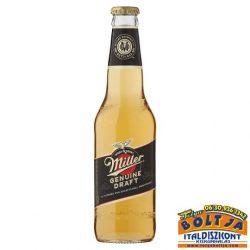 Miller Genuine Draft Világos Sör 0,33l / 4,7%