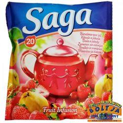 Saga Birsalma-Eper ízű Tea 34g
