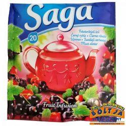 Saga Tea Feketeribizli ízű Gyümölcstea 36g