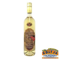 Boldog Névnapot! Szívemből...(parafa címkés) Kunsági Chardonnay 0,75l / 12,5%