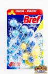 Bref Power Aktív Ocean Breeze, Juicy Lemon wc tisztító golyók 4x50g