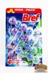 Bref Power Aktív Lavender Field, Pine Forest wc tisztító golyók 4x50g