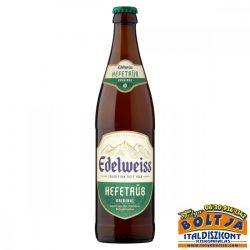 Edelweiss Szűretlen Világos Búzasör üveges 0,5l / 5,3%