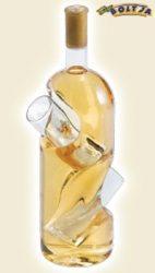Tokaji Furmint az üvegbe illeszthető 2 pohárral 0,5l
